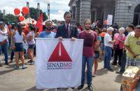 SINAD-MG CONTRA A REFORMA TRABALHISTA E DA PREVIDÊNCIA!!! CONTRA TODO RETROCESSO