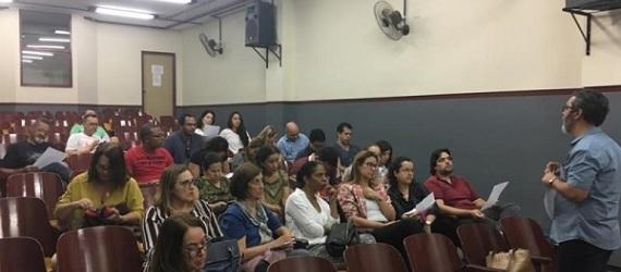 Evento com os professores do Colégio Militar de Belo Horizonte