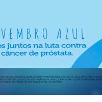 NOVEMBRO AZUL: CÂNCER DE PRÓSTATA MATA, A PREVENÇÃO SALVA!