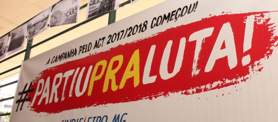 ACT 2017-2018 Mobilização na entrega da pauta