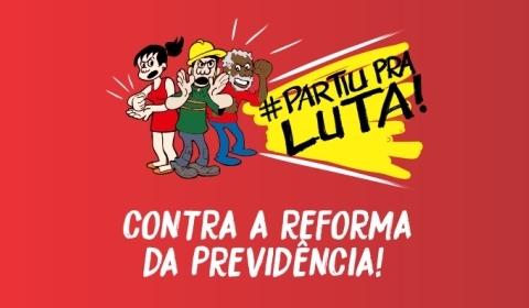 Greve Nacional contra a reforma da previdência