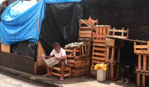 25% da população na linha de pobreza