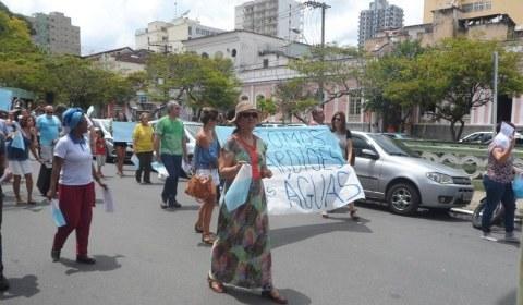 No Sul de Minas: população luta contra a privatização da água