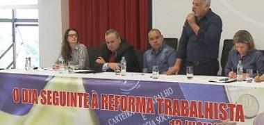 Reforma Trabalhista será alvo de disputa nas ruas e nos tribunais
