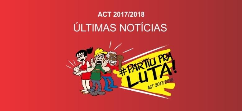 ACT: Pressão garante reabertura da negociação