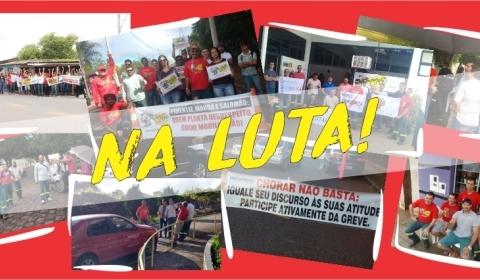 Paralisação: Convicção, luta e muita mobilização!