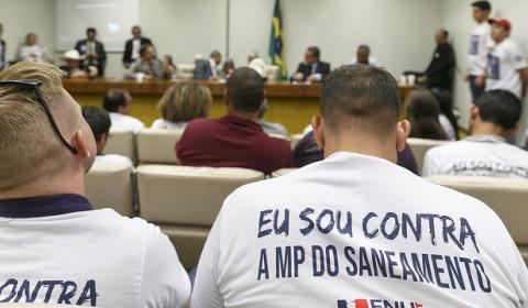 Vitória dos trabalhadores: mobilização derrota a MP da privatização da água