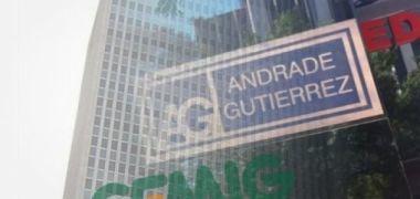 Andrade Gutierrez, que mandou e desmandou na Cemig, agora agoniza