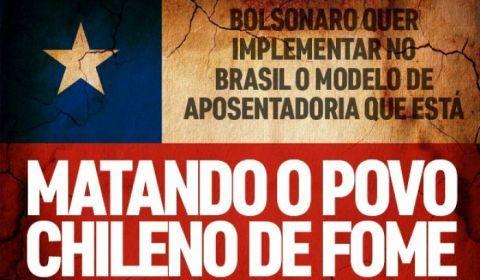 Modelo de Previdência proposto no Brasil levou idosos do Chile à miséria