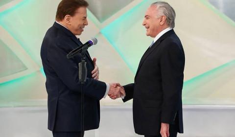Reforma da Previdência: Temer e Silvio Santos defendem o indefensável