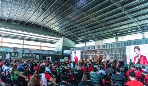 """Na 4ª Conferência da CUT, em BH: Dilma diz que """"não fomos derrotados, a resistência continua"""""""