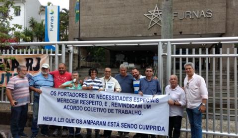 Ação sindical impede demissão de 51 trabalhadores de Furnas