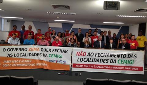 Sindieletro, deputados, prefeitos e vereadores contra a privatização