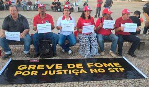 Greve de fome: ativistas em greve exigem audiência com Cármen Lúcia