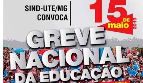A agenda em BH e interior da Greve Nacional da Educação - na quarta, dia 15
