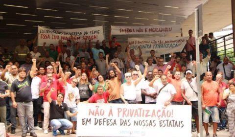 Direitos das trabalhadoras da Cemig são ameaçados pela privatização
