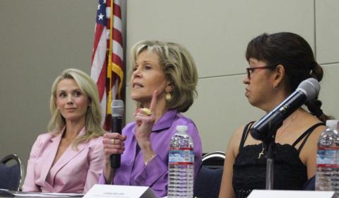 """Jane Fonda: """"Sou uma trabalhadora e tenho sorte de ter um sindicato"""""""