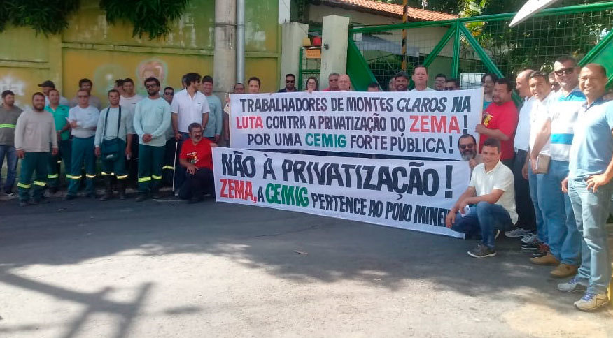 Não à privatização da Cemig