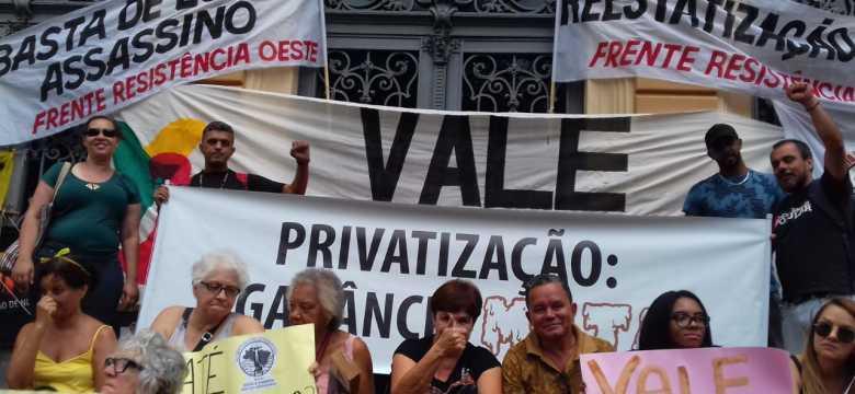 Nossa luta é pela vida e contra as privatizações
