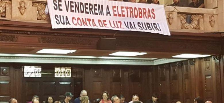 União total em defesa da Eletrobras