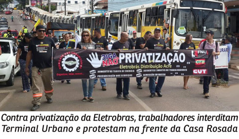 Eletrobras: crime de lesa-pátria