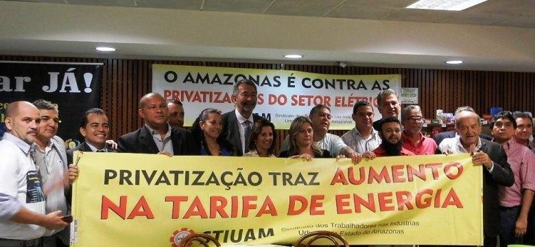 Ilegítimo já prepara a privatização da Eletrobras