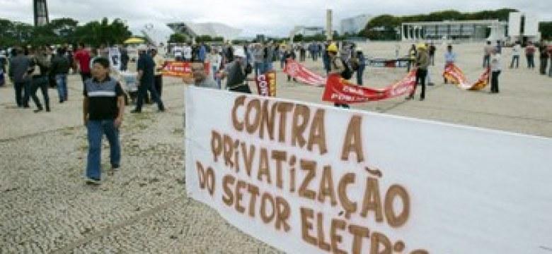 Governo vê energia como mercadoria e não como bem comum