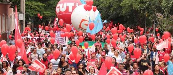 Manifestação contra a Reforma Trabalhista 10/11/17