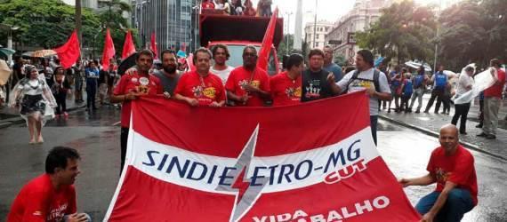 Manifestações contra a Reforma da Previdência 19/02