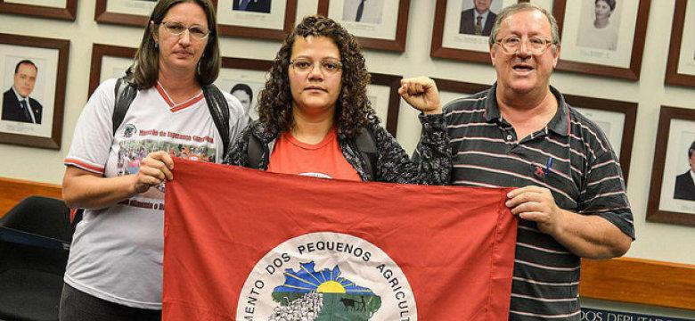 Contra Reforma da Previdência: agricultores fazem greve de fome no Congresso