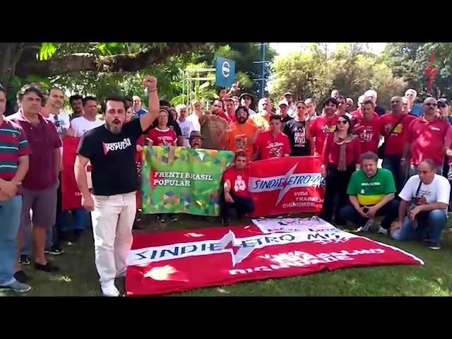 SindieletroMG é #LulaLivre