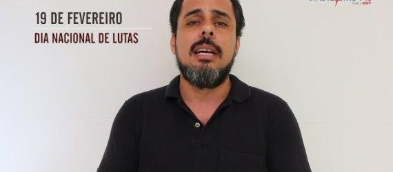 19 de fevereiro é mobilização contra a Reforma da Previdência!