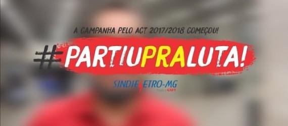 Primeira Reunião ACT 17/18 #PartiuPraLuta