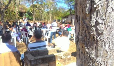 Aposentados se reúnem em Carmo do Cajuru
