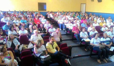 Confira como foi o primeiro dia do 3º Seminário dos Aposentados do Sindieletro em Mariana/MG