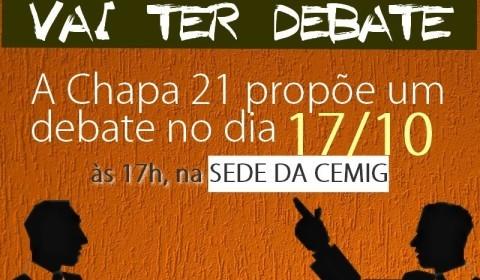 #UnidosPelaForluz: Chapa 21 propõe debate