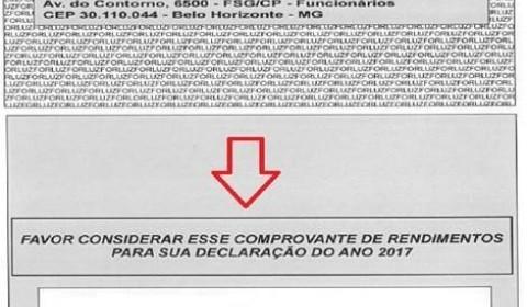 Forluz disponibiliza documento correto para Informe de Rendimentos