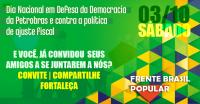 Dia de Mobiliza��o em defesa da Petrobras