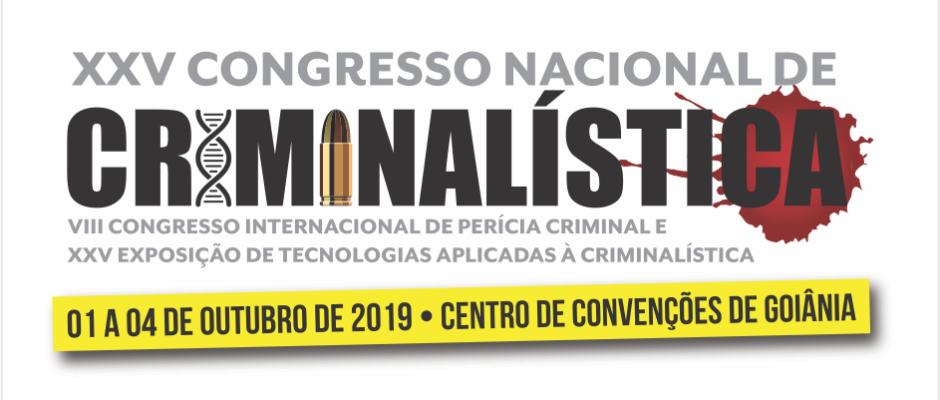XXV - Congresso Nacional de Criminalística