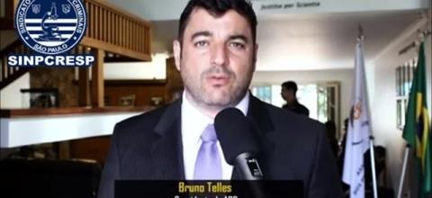 Presidente da ABC, Bruno Telles, convoca os peritos criminais