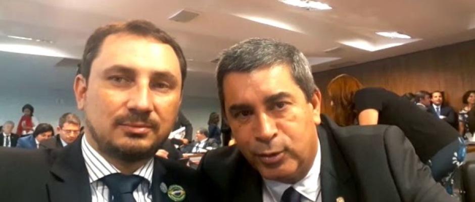 Eduardo Becker obtém apoio do deputado federal Coronel Tadeu