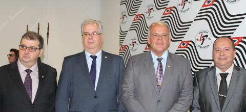 SINPCRESP prestigia posse do novo superintendente da SPTC e diretores do IC e IML
