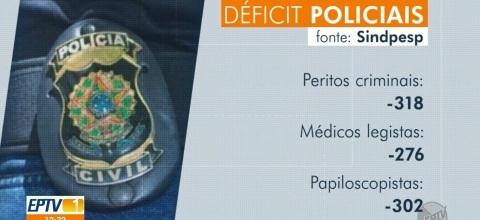 Estado de São Paulo tem deficit de 13 mil policiais civis, segundo sindicato