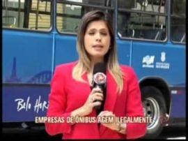 JORNAL DA ALTEROSA - EMPRESAS DE ÔNIBUS AGEM ILEGALMENTE