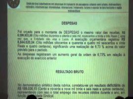 Prestação de Contas/Exercício 2014