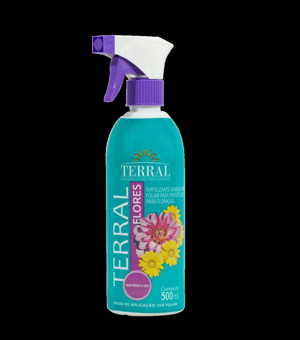 Terral Flores Pronto para Uso 500ml
