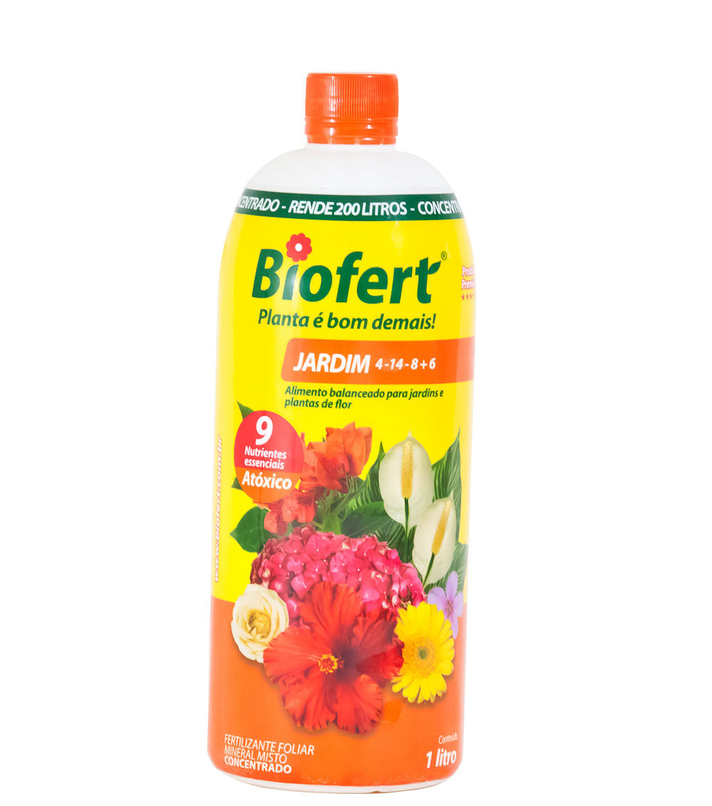Biofert Jardim NPK 04-14-8 + 6