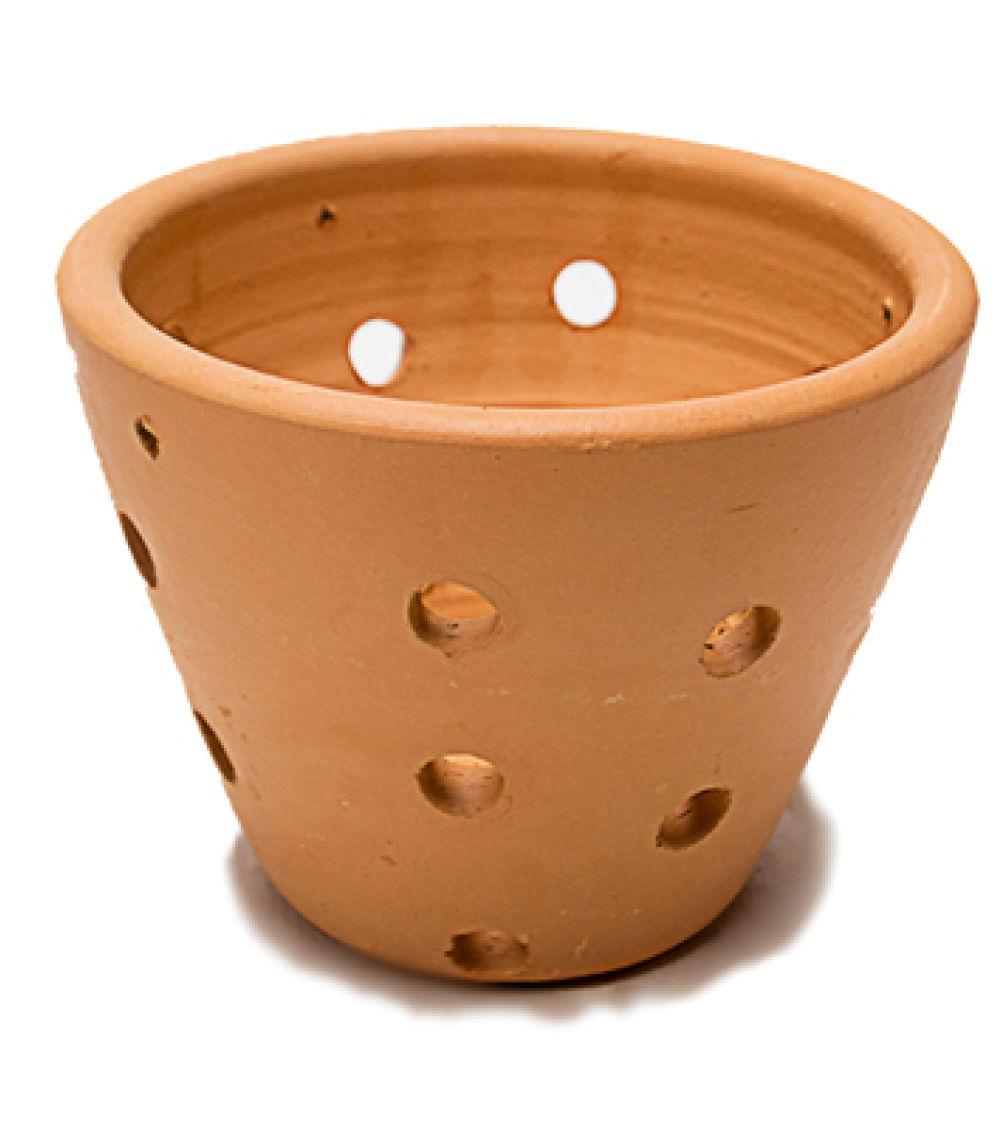 Vaso de cer mica orqu dea colonial for Como pintar jarrones de ceramica