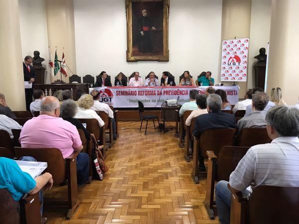 Seminário Reforma da Previdência e Reforma Trabalhista
