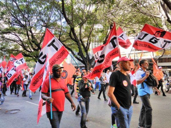 30 de junho de 2017 - Dia Nacional de Luta contra as reformas do governo Temer